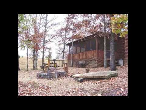 Private Lake Cabin and Missouri Log Cabin near Springfield,MO