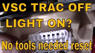 8. How to do a zero point calibration on LEXUS AND TOYOTA  VSC  TRAC OFF