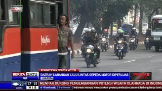 Video Kondisi Jalan Sudirman Saat Sosialisasi Pelarangan Motor MP3, 3GP, MP4, WEBM, AVI, FLV Agustus 2017