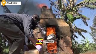 UGANDA POLICE BURNS NARCOTICS WORTH 8 BILLION - MAJ GEN SABIITI MUZEEYI PRAISES THEM.
