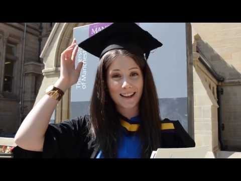 INTO Manchester: Diana graduates from The University of Manchester