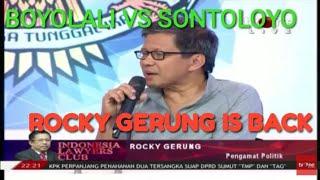 Video ILC TAMPANG BOYOLALI VS SONTOLOYO || ROCKY GERUNG BERI TANGGAPAN LUGAS MP3, 3GP, MP4, WEBM, AVI, FLV Januari 2019