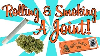 ROLLING & SMOKING A JOINT! by Strain Central