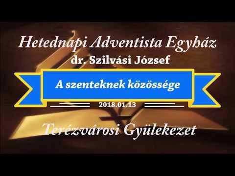A szenteknek közössége    dr. Szilvási József   2018.01.13