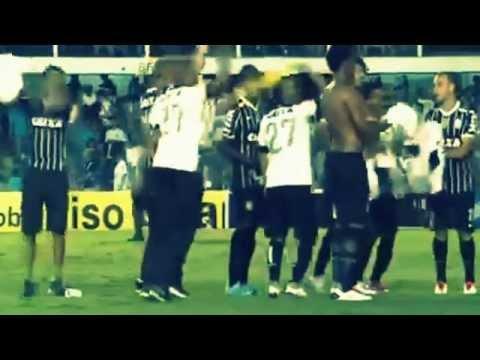 Imprensa brit�nica mostrou ao vivo o t�tulo do Corinthians em cima do Santos