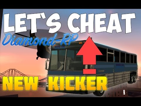 Let`s cheat Diamond-RP (GTA SAMP) #190 - Новый кикер | New Kicker (видео)