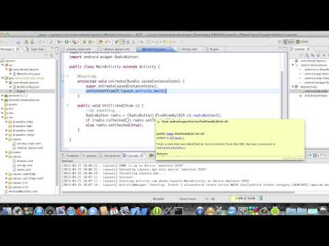 Android Development Course - Chapter 8 - Layouts