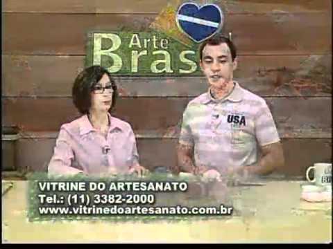 ARTE BRASIL - CLAUDIA MARIA - SAPATINHO DE BEBÊ EM TRICÔ (31/10/2011)
