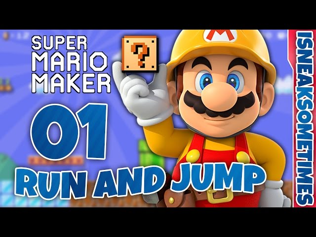 super mario jump and run