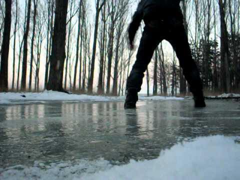 """Trượt băng nghệ thuật cùng  Hiệp """"Gà"""""""