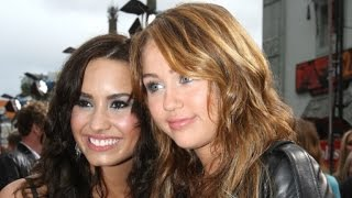 Demi Lovato Talks Miley Cyrus Feud Rumors - Interview