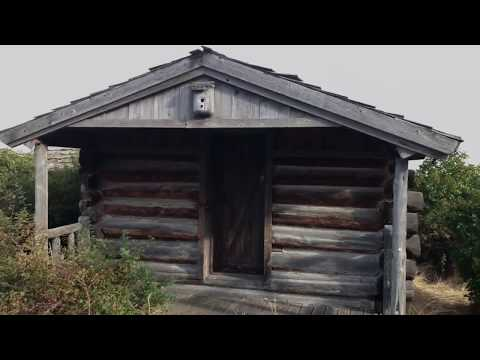 Passing Through: La Grande, Oregon - Old Cabin on the Oregon Trail