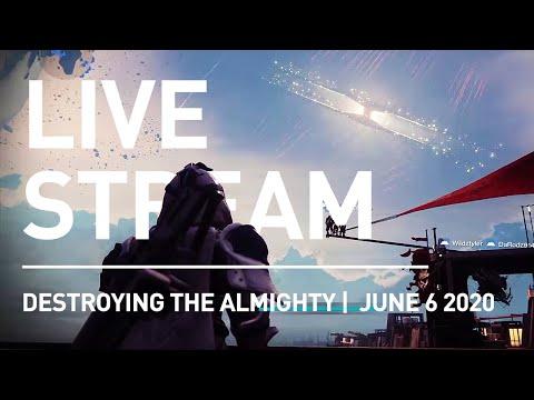LIVE Destiny 2: Watching Rasputin Destroy The Almighty