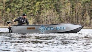 Porta-Bote auf Schwedens Seen
