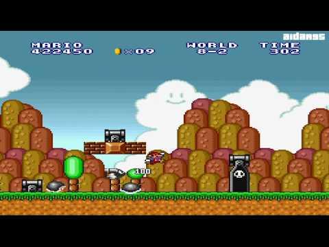 Let's Play Super Mario Bros. (SNES) - Part 6 - aidar95 has Gone Nuts!!!