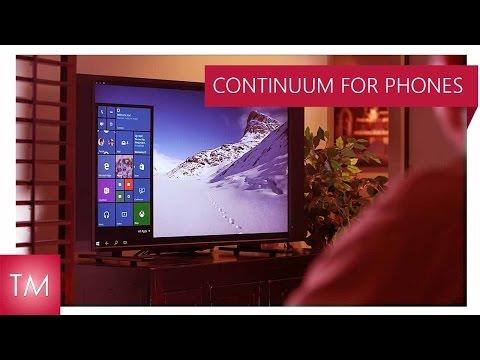 Continuum for Windows 10 Phones is EPIC!