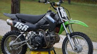1. I GOT A 2007 BIG BORE KLX 110 FOR $300!! | KLX 143