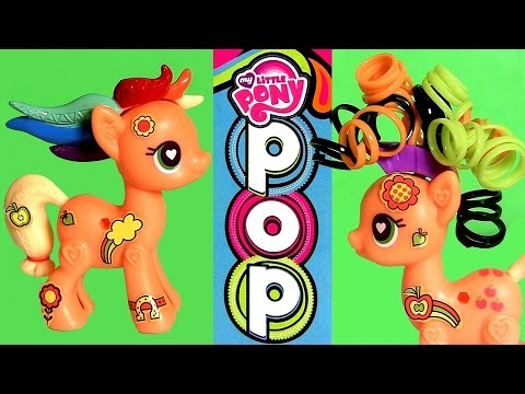 Little - DisneyCollector presents My Little Pony Pop AppleJack starter kit. Design a pony your way with the Applejack Kit! It has a pony body you can snap together, then it's easy to add her beautiful...