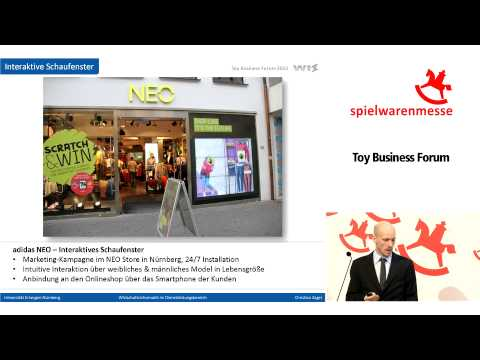 Toy Business Forum 2013: New Trends in the Toyshop