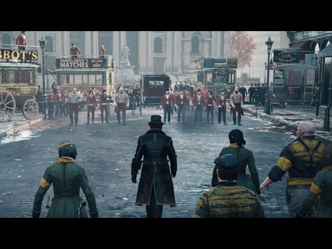 Assassins Creed Syndicate Gang Wars - The Rooks Vs The Blighters