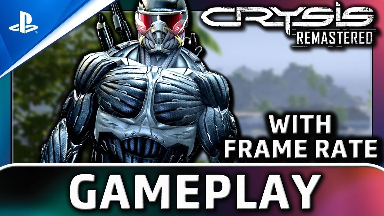 Crysis Remastered | PS4 Gameplay and Frame Rate