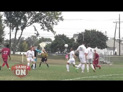 Rancocas Valley at Burlington Township boys soccer, 9-29-15
