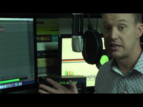 Microphone X demo / review by Australian Voice Actor, Radio & Television Presenter Justin Coombes-Pearce
