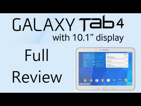 Samsung Galaxy Tab 4 10.1 (T531) Review With Gaming, Camera, Benchmarks, Audio & Video Playback