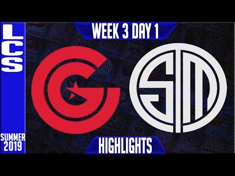 CG Vs TSM Highlights | LCS Summer 2019 Week 3 Day 1 | Clutch Gaming Vs Team Solomid