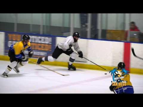 Adult Hockey San Diego at Iceplex Escondido Hockey Night in San Diego