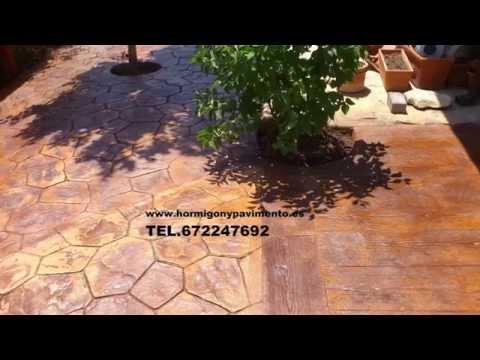 Hormigon Impreso Narros De Matalayegua 672247692 Salamanca