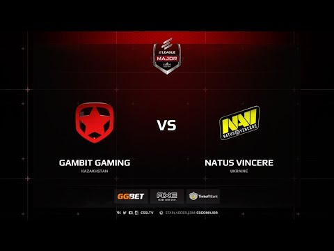 Gambit vs Natus Vincere, nuke, ELEAGUE Major Boston 2018
