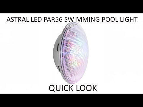 Astral LED LumiPlus Colour Changing RBG & White PAR56 Replacement Swimming Pool Bulb