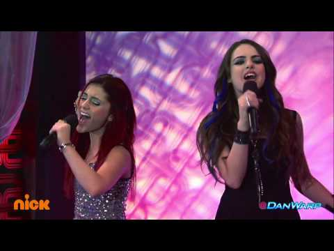 """Ariana Grande and Liz Gillies Sing """"Give It Up!"""" 