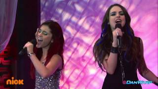 "Video Ariana Grande and Liz Gillies Sing ""Give It Up!"" 