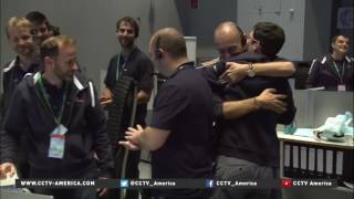 Rosetta the comet chasing probe ends 12yr mission with crash