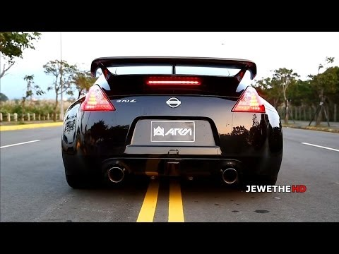 epic sounding nissan 370z w