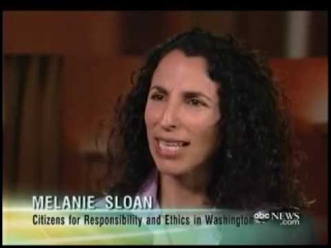 Melanie Sloan Discusses Ensign Affair on Nightline