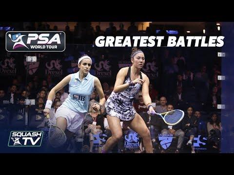Squash: Amanda Sobhy v Nour El Tayeb - Greatest Battles