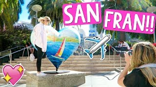 SHOPPING IN SAN FRANCISCO!!! by Alisha Marie Vlogs