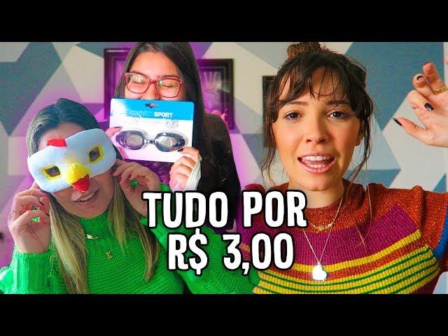 COMPRINHAS NA LOJA DE R$ 3,00 REAIS - Taciele Alcolea