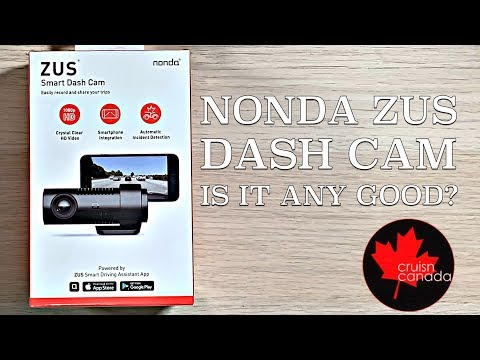 Nonda ZUS Smart Dash Cam | Unboxing, Setup And Review