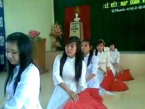 múa quạt việt nam bài quê hương  (11v)