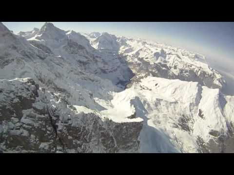 Speedflying in Wengen