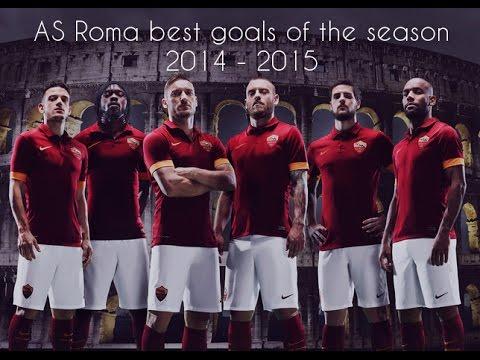 meravigliosi goal 2014 amazing as roma