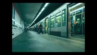 Timelapse Rotterdam Beurs metro - WDKA - Crosslab