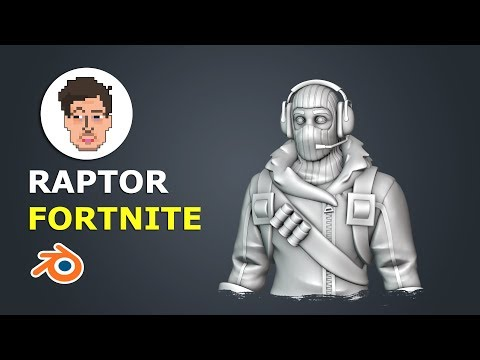 Sculpting A Fortnite Character In Blender