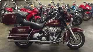 4. 2008 Harley Davidson Electra Glide classic