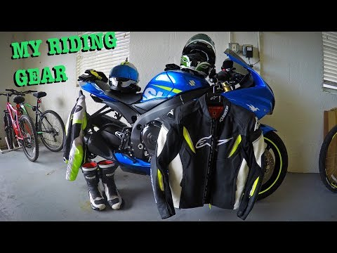 My Motorcycle Gear Review
