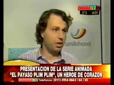 El Payaso Plim Plim un héroe del corazón -Disney Junior - Guillermo Pino - Crónica TV